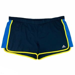 Adidas Brief Lined Running Shorts Black